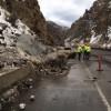 Glenwood Canyon rock slide shuts down I-70, forces major detours