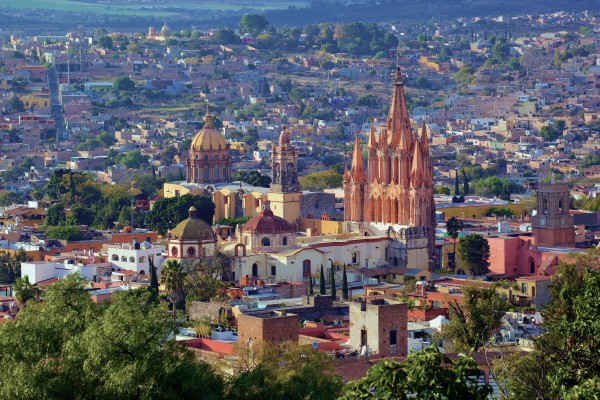 San Miguel de Allende (Wiki Commons photo).