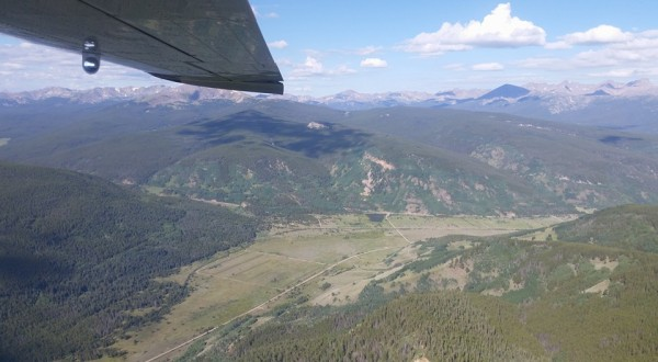 camp hale from EcoFlight