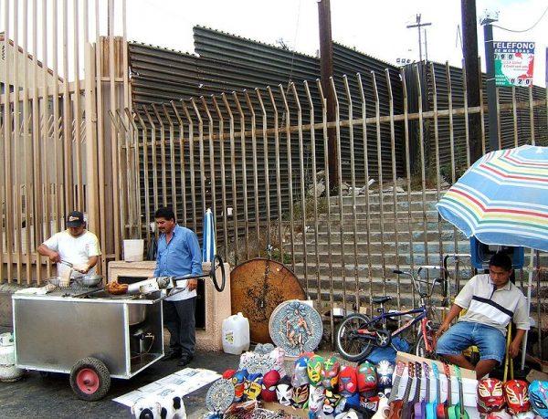 Tijuana Mexico border fence