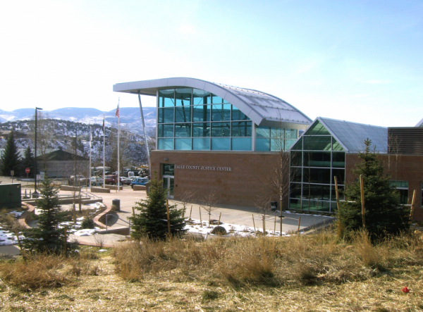 The Eagle County Justice Center.