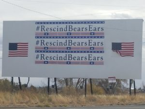 rescindbearsears billboard in blanding utah 112417